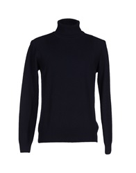 Seventy By Sergio Tegon Turtlenecks Dark Blue
