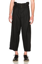 Marni High Waisted Trousers In Gray