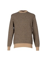 Mp Massimo Piombo Knitwear Jumpers Men Sand