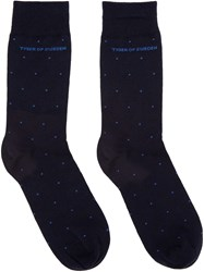 Tiger Of Sweden Navy Abbond Socks
