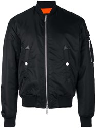 Dsquared2 'Military' Bomber Jacket Black
