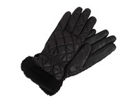 Ugg Slim Fit Quilted Fabric Smart Glove Black Multi Extreme Cold Weather Gloves