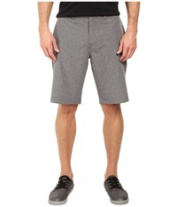 Travis Mathew P Dee Ex Shorts Heather Quiet Shade Men's Shorts Gray