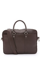 J.W. Hulme Co. Century Attache Briefcase Walnut