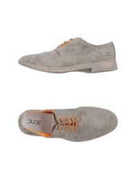Hey Dude Shoes Lace Up Shoes Grey