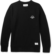 Neighborhood Cotton Jerey Weathirt Black
