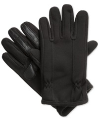 Isotoner Signature Thermaflex Smartouch Tech Stretch Gloves Black