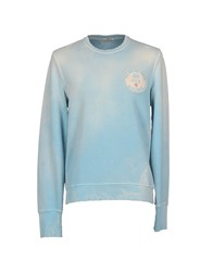 Cycle Topwear Sweatshirts Men Sky Blue