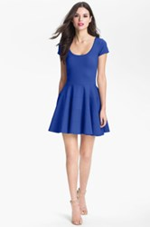 Felicity And Coco Ponte Knit Fit And Flare Dress Nordstrom Exclusive