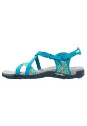 Merrell Terran Lattice 2 Walking Sandals Teal Turquoise