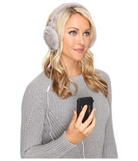 Ugg Classic Earmuff With Speaker Technology Seal Cold Weather Hats Blue