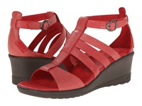 Keen Victoria Sandal Ribbon Red Women's Wedge Shoes