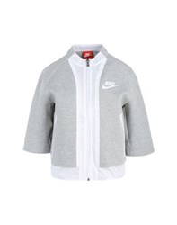 Nike Coats And Jackets Jackets Women Light Grey