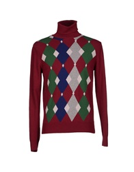 Ballantyne Turtlenecks Maroon