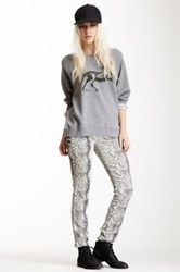 Rvca Noise Pollution Lace Up Jean Gray