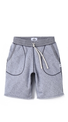 Reigning Champ Tiger Terry Sweat Shorts White Navy