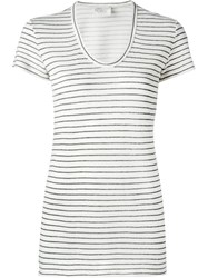 Forte Forte Striped T Shirt Nude And Neutrals