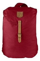 Fjall Raven Men's Fjallraven 'Greenland' Small Backpack Red Redwood