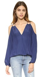 Ramy Brook Gigi Top Navy