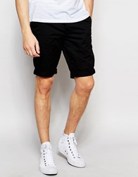 Minimum Chino Shorts In Black Black