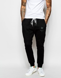 Hype Panelled Joggers Black
