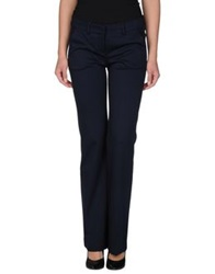Hanita Casual Pants Dark Blue