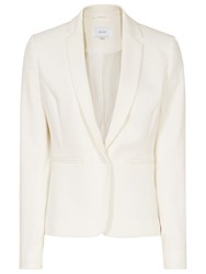 Reiss Moon Single Breasted Blazer Off White