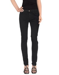 Mauro Grifoni Denim Denim Trousers Women Black