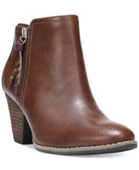 Dr. Scholl's Casey Booties Women's Shoes Whiskey