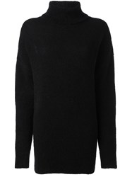 N 21 No21 Cut Out Back Jumper Black