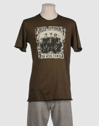 Liquid Short Sleeve T Shirts Dark Green
