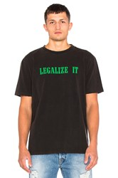 Palm Angels Legalize It Tee Charcoal