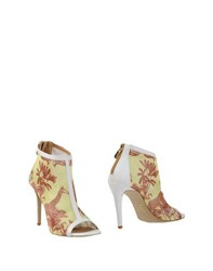 Pin Up Stars Footwear Ankle Boots Women Yellow