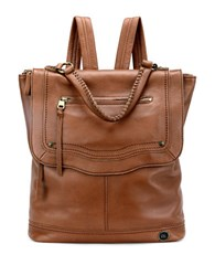 The Sak Tahoe Leather Backpack Cognac