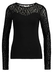 Only Onlmaja Long Sleeved Top Black
