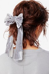 Free People Womens Drippy Velvet Bow