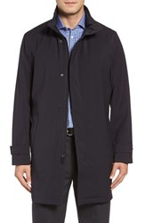 Michael Kors Men's Big And Tall Stretch Rain Coat Midnight Blue