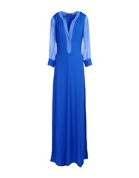Gio' Guerreri Dresses Long Dresses Women Blue