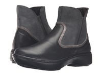 Naot Footwear Surge Black Raven Leather Reptile Gray Leather Gray Shimmer Leather Women's Boots