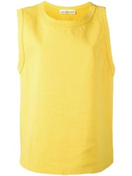 Golden Goose Deluxe Brand 'Chrissy' Tank Top Yellow Orange