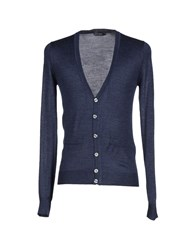 Antony Morato Knitwear Cardigans Men Dark Blue