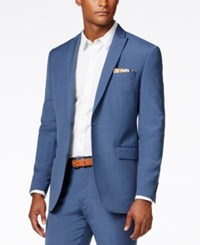Bar Iii Men's Dusty Blue Solid Slim Fit Jacket Only At Macy's