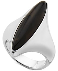 Nambe Smoky Quartz 18 X 11 X 5Mm Marquise Ring In Sterling Silver Only At Macy's