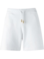 Dsquared2 Printed Track Shorts White