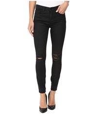 Blank Nyc Black Coated Skinny In All Lacquered Up All Lacquered Up Women's Jeans