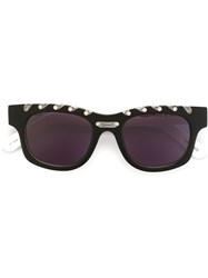 House Of Holland 'Ropey' Sunglasses Black