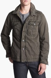 Jeremiah Rogue Twill Jacket Brown