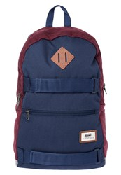 Vans Authentic Iii Sk8pack Rucksack Port Royale Colorblock Bordeaux