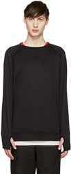 Diesel Black Gold Black French Terry Pullover