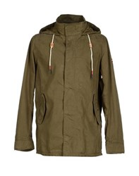 Tommy Hilfiger Denim Coats And Jackets Coats Men Military Green